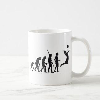 evolution volleyball taza clásica