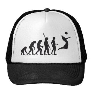 evolution volleyball trucker hat