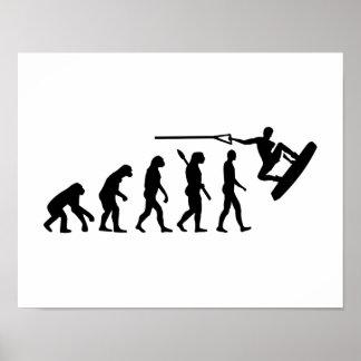 Evolution Wakeboarding Poster