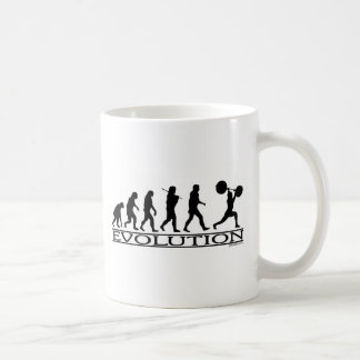 Evolution - Weight Lifter Coffee Mug