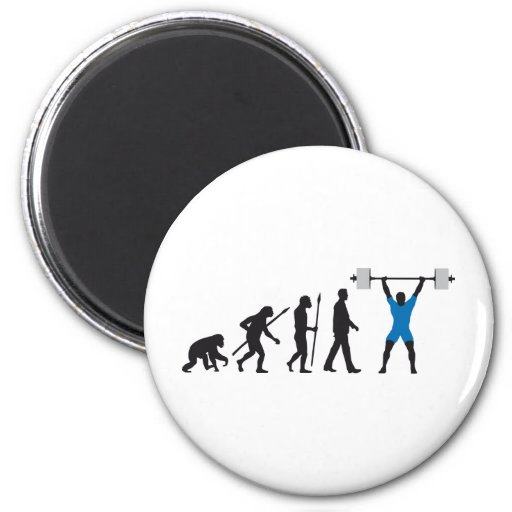 evolution weight lifter imán redondo 5 cm
