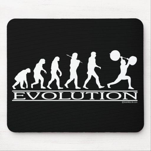 Evolution - Weight Lifter Mouse Mat
