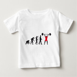 evolution weight more lifter baby T-Shirt