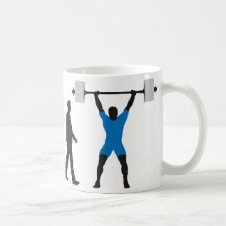 evolution weight more lifter coffee mug