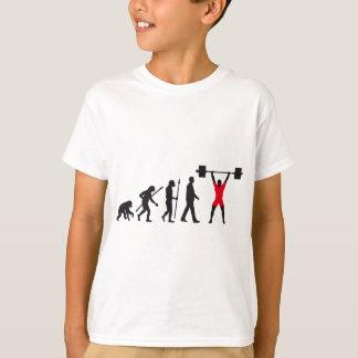 evolution weight more lifter T-Shirt