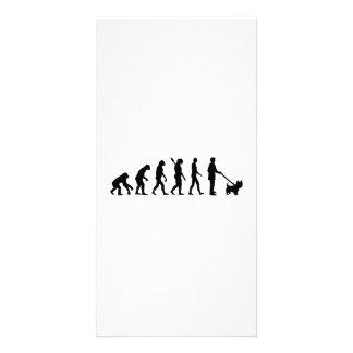 Evolution Westie Photo Card Template