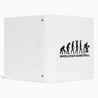 Evolution wheelchair basketball 3 ring binder