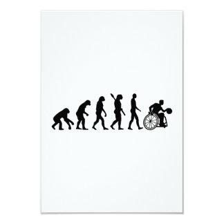 Evolution wheelchair basketball card