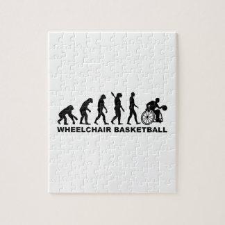 Evolution wheelchair basketball jigsaw puzzle