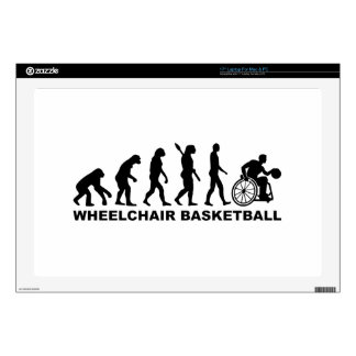 Evolution wheelchair basketball laptop skins