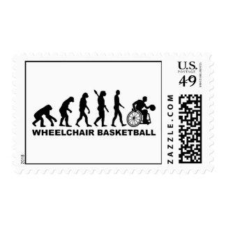 Evolution wheelchair basketball postage