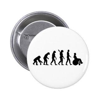 Evolution wheelchair handicaped pins