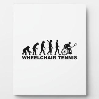 Evolution wheelchair tennis plaque