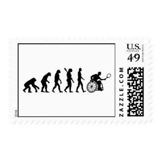 Evolution wheelchair tennis postage