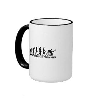 Evolution wheelchair tennis ringer mug