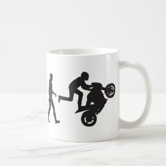 Evolution-Wheelie Coffee Mug