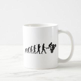 Evolution - Wheelie Coffee Mug
