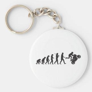 Evolution - Wheelie Keychain