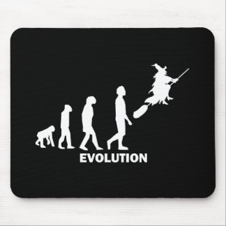 evolution witch mouse pad