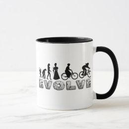Evolution Womens Cycling Mug