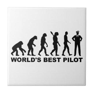 Evolution world's best Pilot Ceramic Tile
