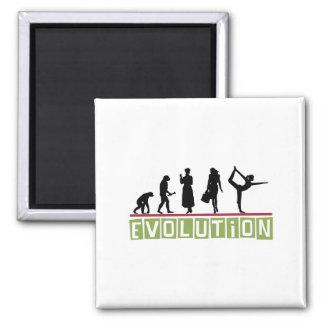 Evolution Yoga 2 Inch Square Magnet