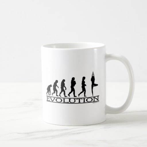 Evolution - Yoga Coffee Mugs