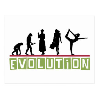Evolution Yoga Gift Post Card