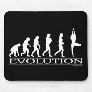 Evolution - Yoga Mouse Pads