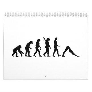 Evolution Yoga Pilates Calendar