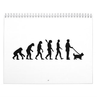 Evolution Yorkshire Terrier Calendar