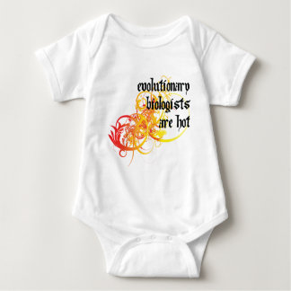 Evolutionary Biologists Are Hot T-shirts