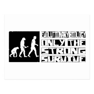 Evolutionary Biology Survive Postcard