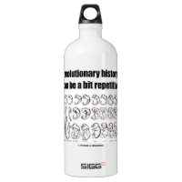 evolutionary history can be a bit repetitive SIGG traveler 1.0L water bottle