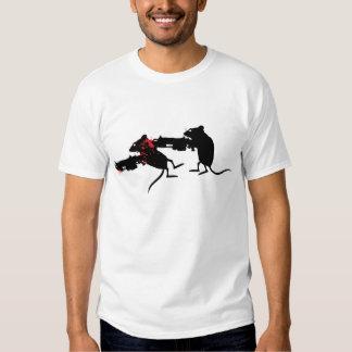 Evolutionary Mice Lancers T-shirts