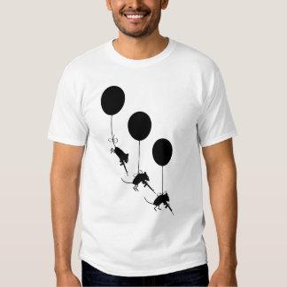 Evolutionary Mice Paratroopers Tee Shirt
