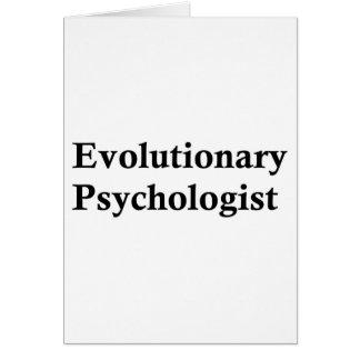 Evolutionary psychologist card