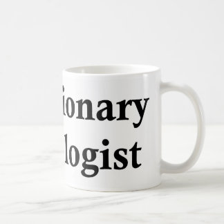 Evolutionary psychologist coffee mug