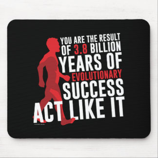 Evolutionary Success Mouse Pad