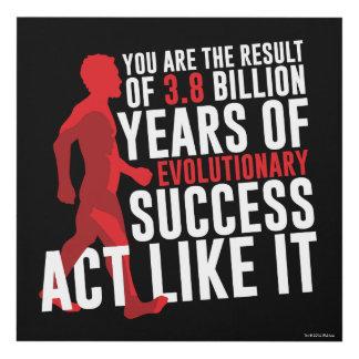 Evolutionary Success Panel Wall Art