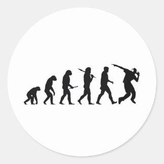 EvolutionDance Round Stickers