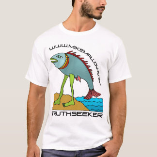 EVOLUTIONIST  MIKE MALLOY  TRUTHSEEKER T-SHIRT