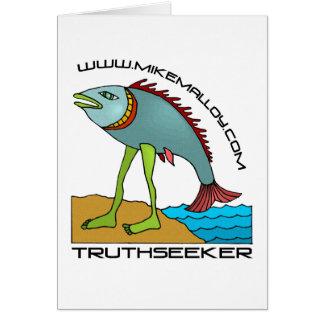 EVOLUTIONIST TRUTHSEEKER CARD