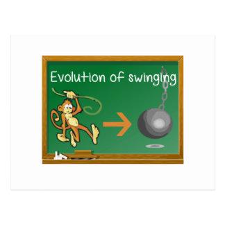 evolutionofswinging png postcard
