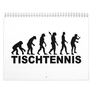 Evolutution de Tischtennis Calendarios