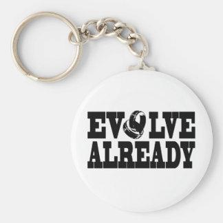 Evolve Already Keychain