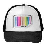 evolve barcode hats