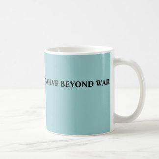 EVOLVE BEYOND WAR COFFEE MUG