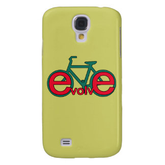 Evolve Bicycle Art for Tshirts, Apparel Samsung Galaxy S4 Cover