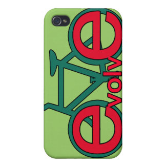 Evolve Bicycle Art for Tshirts, Apparel iPhone 4/4S Covers